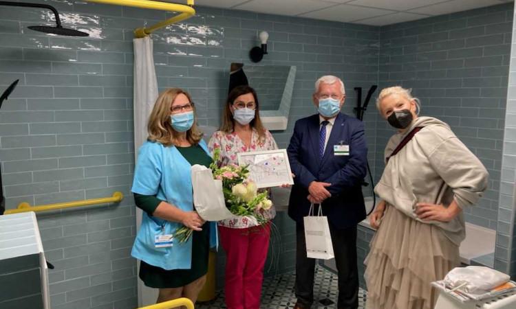 Nowa łazienka w Klinice Kardiologii