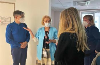 Wizyta referencyjna w Zakładzie Diagnostyki Obrazowej