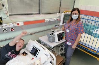 Wsparcie Urzędu Marszałkowskiego Województwa Mazowieckiego w postaci dwóch defibrylatorów