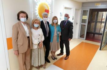 Wsparcie Fundacji POLSAT-Jesteśmy dla dzieci dla Kliniki Neonatologii i Kliniki Neurologii